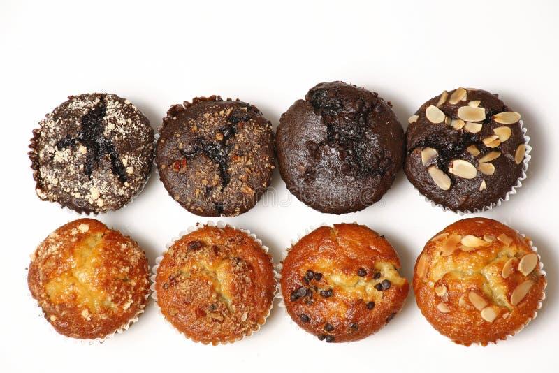 Muffins stockbilder