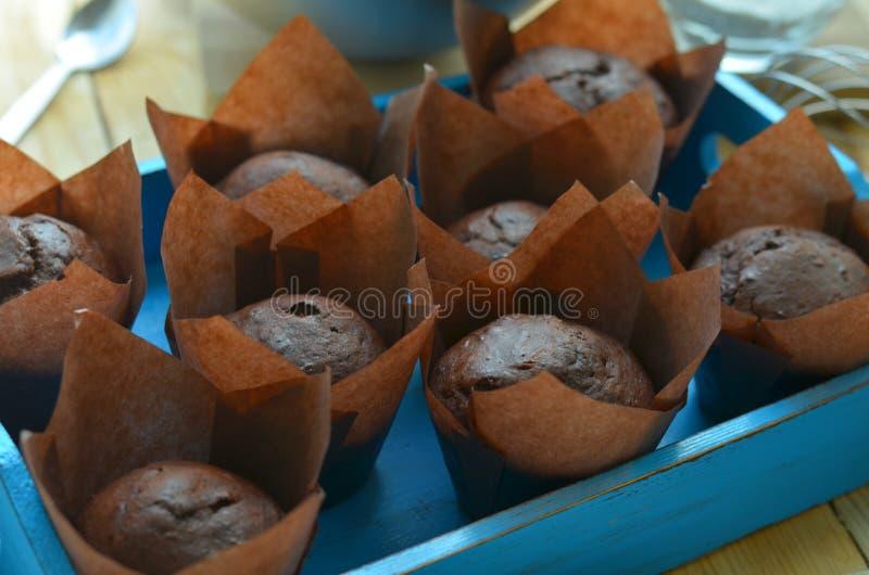 Muffins stockfotografie