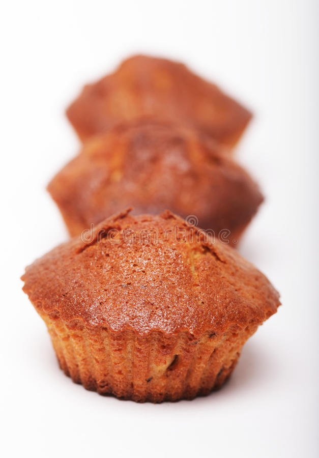 Download Muffins isolated on white stock photo. Image of tasty - 39509198