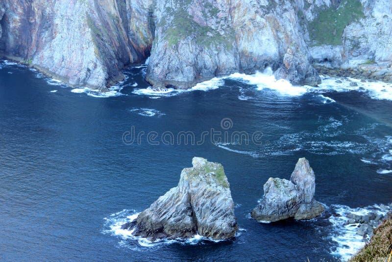 Muffligaklippor - Irland arkivbilder