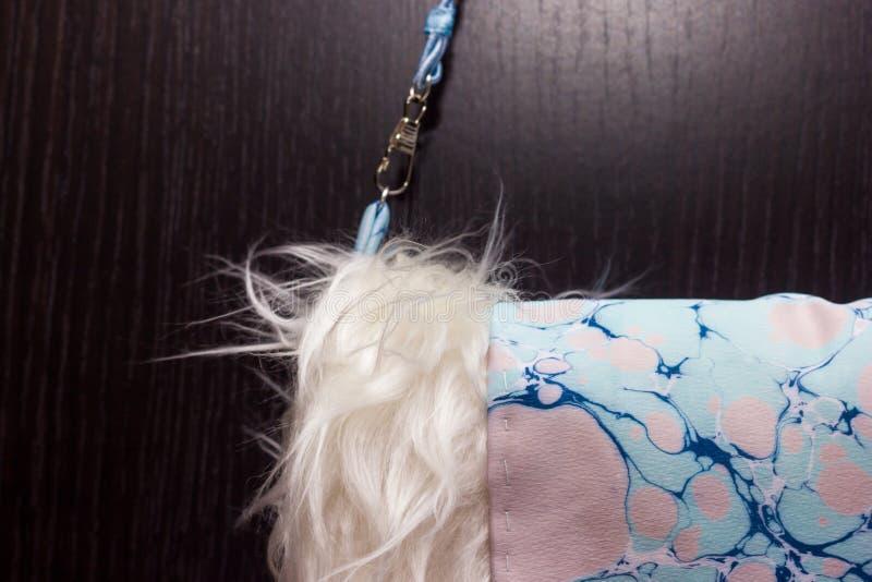 Mufka z ebru czerepem obrazy royalty free