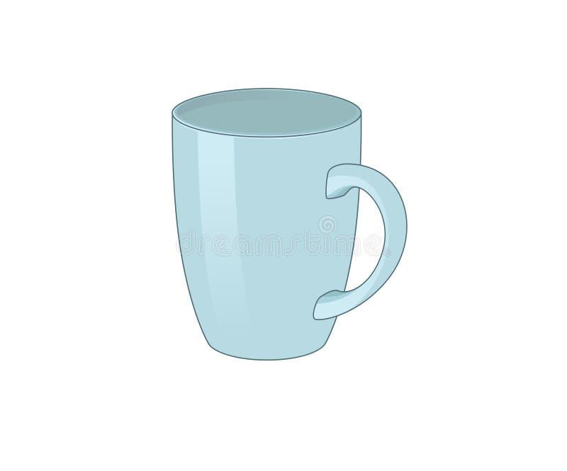 mug illustration de vecteur