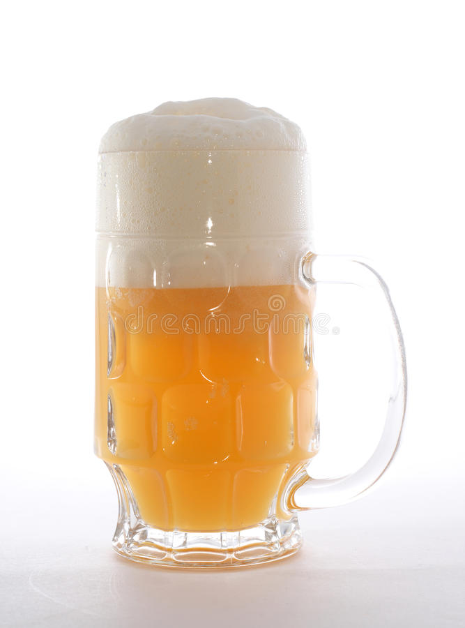 Download Mug with beer stock photo. Image of close, dishware, drink - 14541468