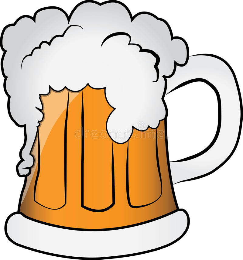 mug of beer stock illustration illustration of goblet 57274208 rh dreamstime com beer clip art free download beer clip art free images