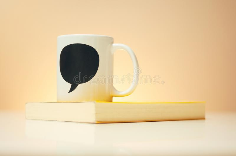 Mug for Father`s Day With Space for Text stock image