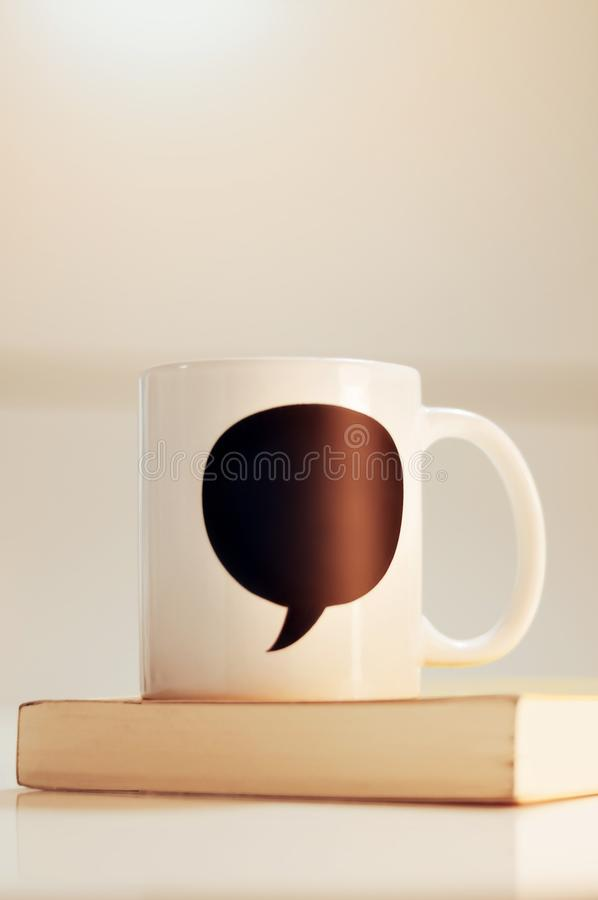 Mug for Father`s Day With Space for Text royalty free stock image
