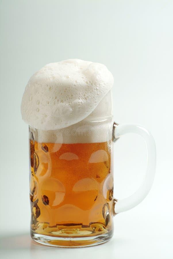 Download Mug of Freshly Poured Beer stock image. Image of foam - 5780023
