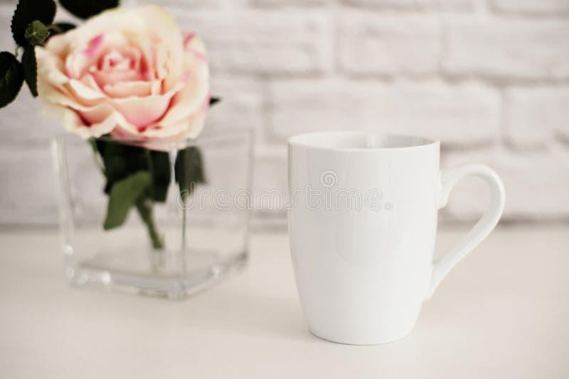Mug Mockup. Coffee Cup Template. Coffee Mug Printing Design Template. White Mug Mockup. Blank Mug. Mockup Styled Stock stock photos