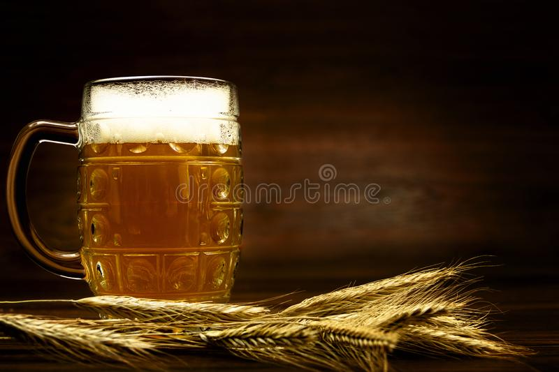Ready for october beer festival in autumn october month in germany stock photography