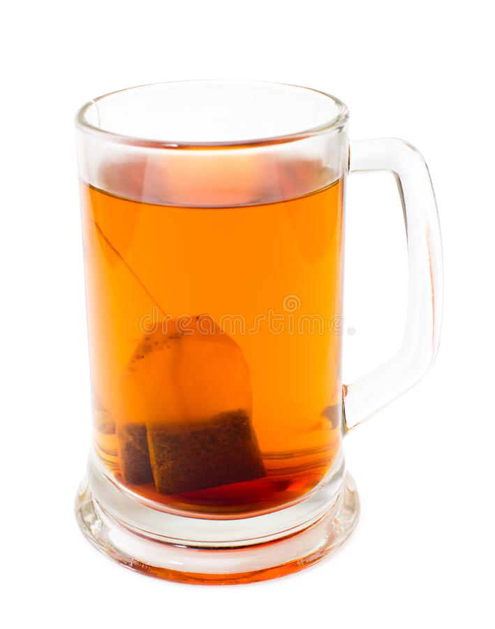 Download Mug of tea stock image. Image of glass, clipping, path - 18380691