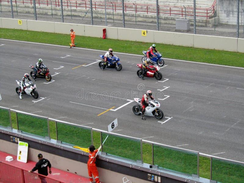 Mugello Circuit. Circuit Mugello - Manifestazione Motociclistiche Coppa Italia di Motociclismo - 01 Premier National Cup 2010 23-25 aprile 2010 - Trofeo Super stock image