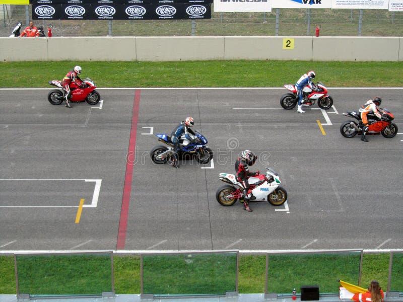 Mugello Circuit. Circuit Mugello - Manifestazione Motociclistiche Coppa Italia di Motociclismo - 01 Premier National Cup 2010 23-25 aprile 2010 - Trofeo Super stock images