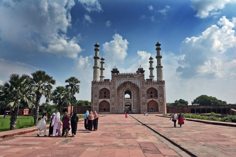 Mughal Architecture stock photo