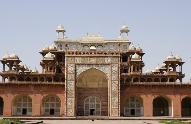 mughal cesarza grobowiec obrazy royalty free
