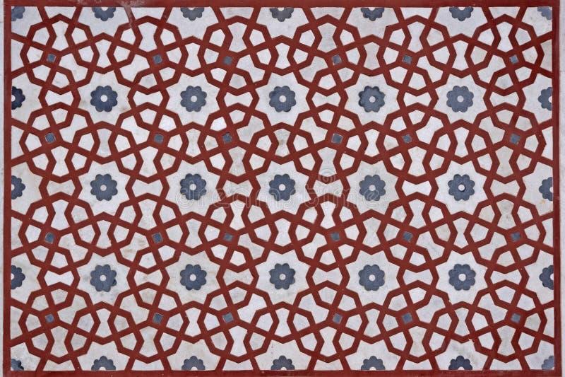 Mughal Craftsmanship Stock Image
