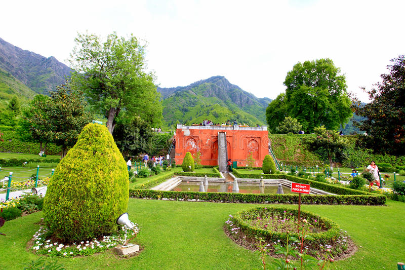 Download Mughal garden editorial photography. Image of trees, mughal - 24783907