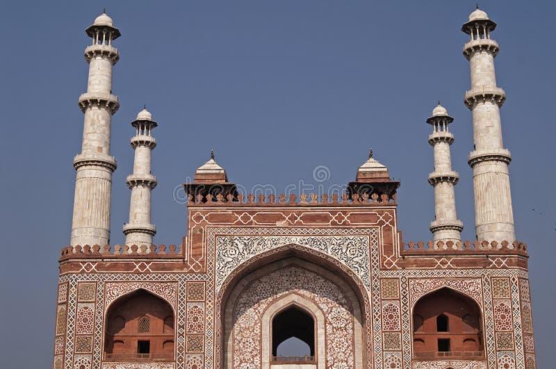 mughal grobowiec obraz stock