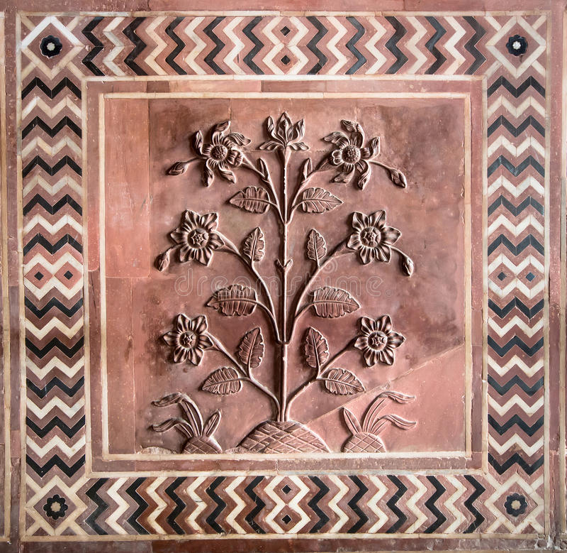 Decorative stone circle stock image image of carved - Decorative stones online india ...