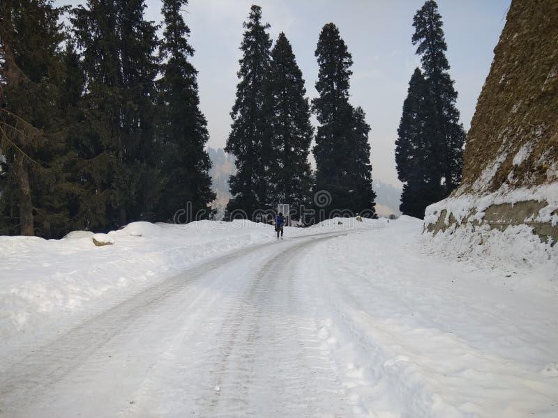 Mughal väg arkivbilder