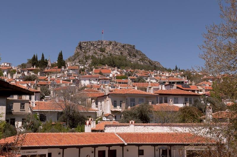 Mugla Stadt in der Türkei lizenzfreie stockfotos
