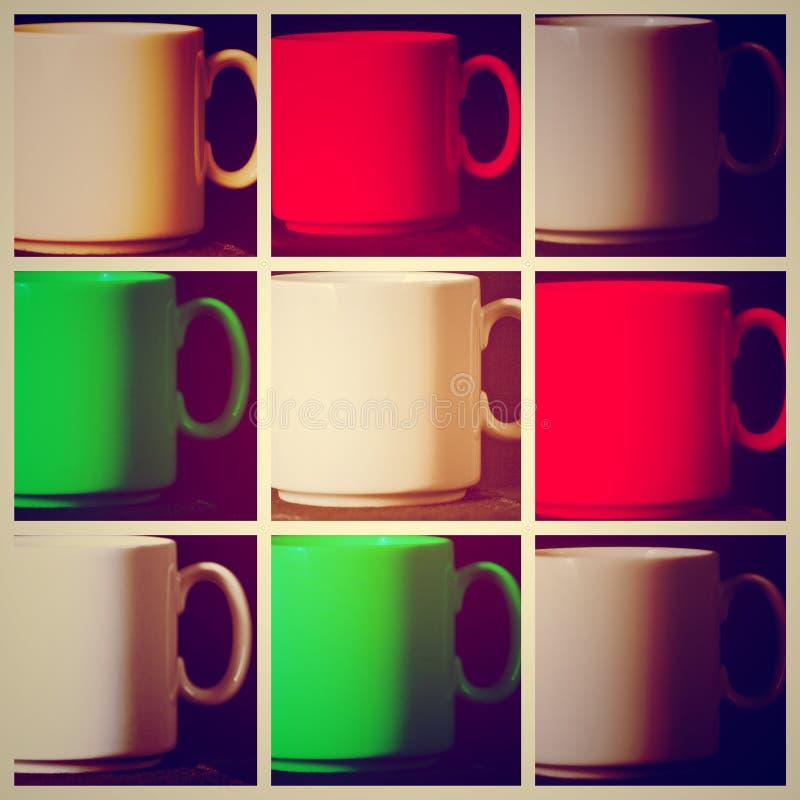 mugs photo stock