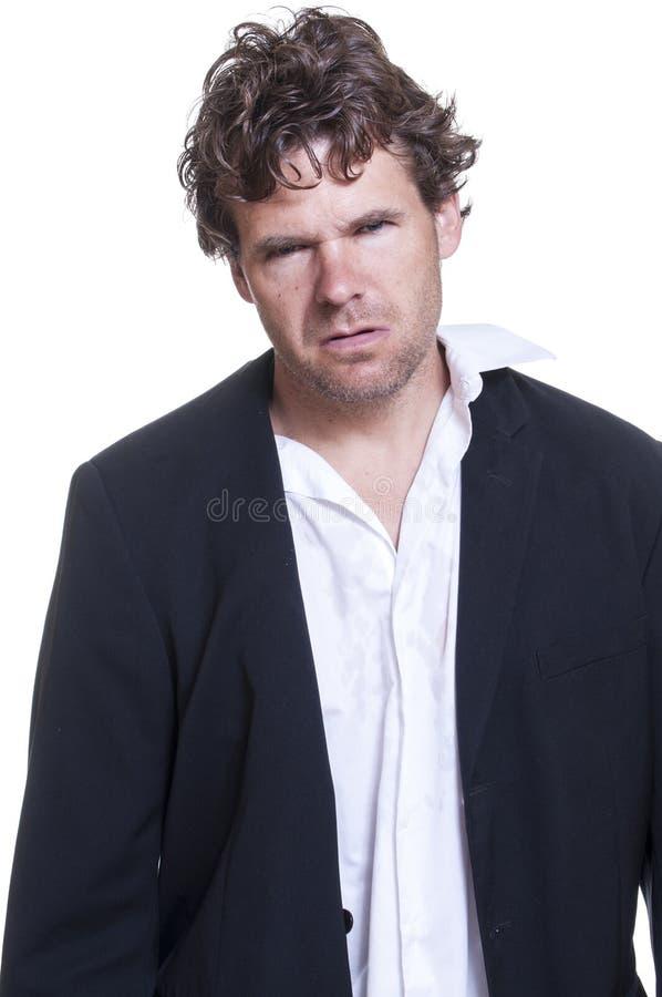 Download Mugshot of loser stock image. Image of hair, jacket, blonde - 34258889
