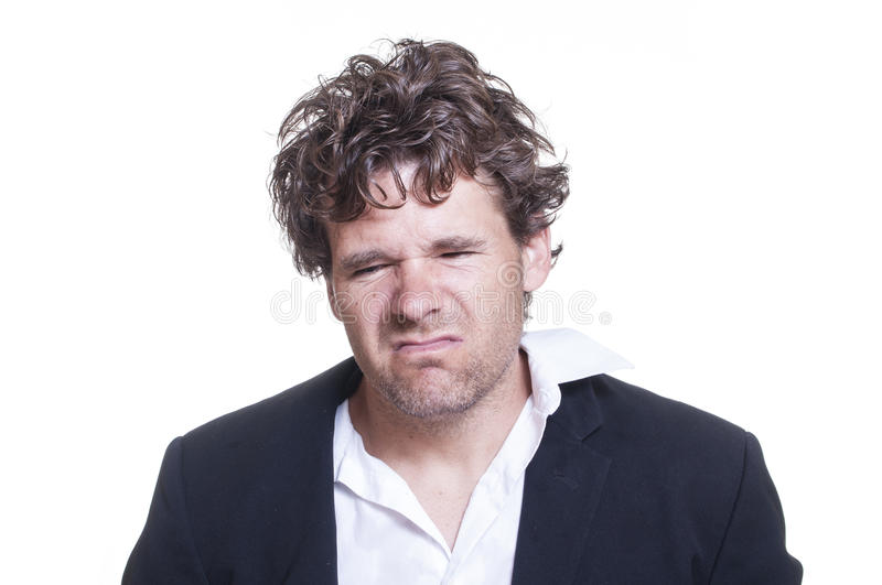 Download Mugshot of loser stock photo. Image of inebriated, messy - 34001664