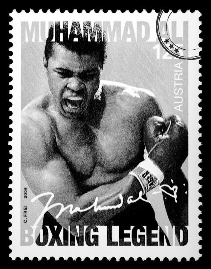Muhammad Ali stock afbeelding
