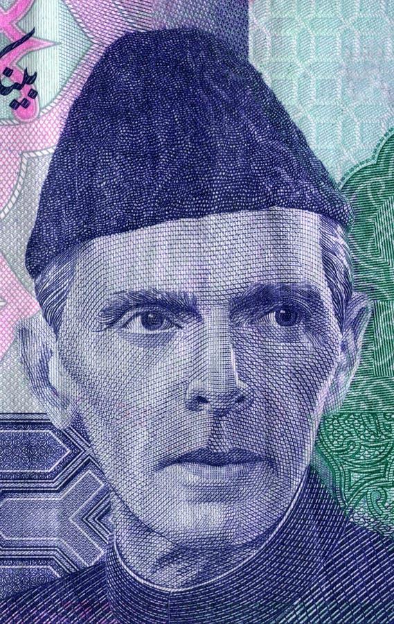 Muhammad Ali Jinnah stock afbeeldingen
