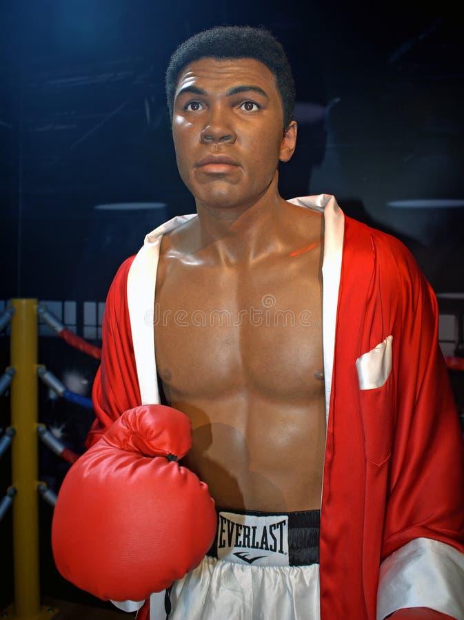 Muhammad Ali, Singapore. Muhammad Ali, the champion of boxing royalty free stock image