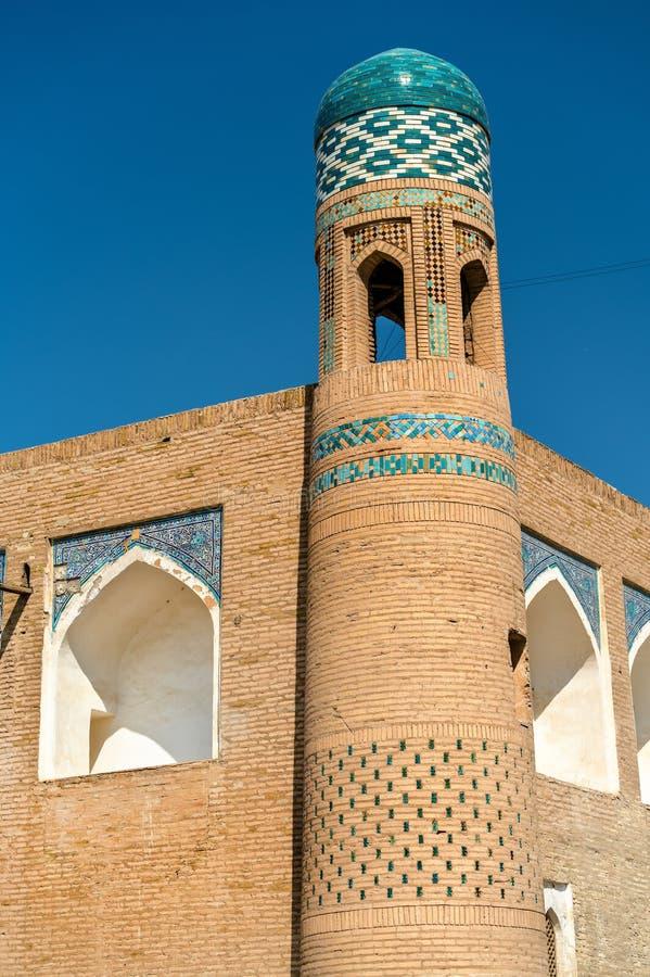Muhammad Amin Khan Madrassah at Itchan Kala. Khiva, Uzbekistan. Muhammad Amin Khan Madrassah at Itchan Kala. Khiva, a UNESCO heritage site in Uzbekistan stock image