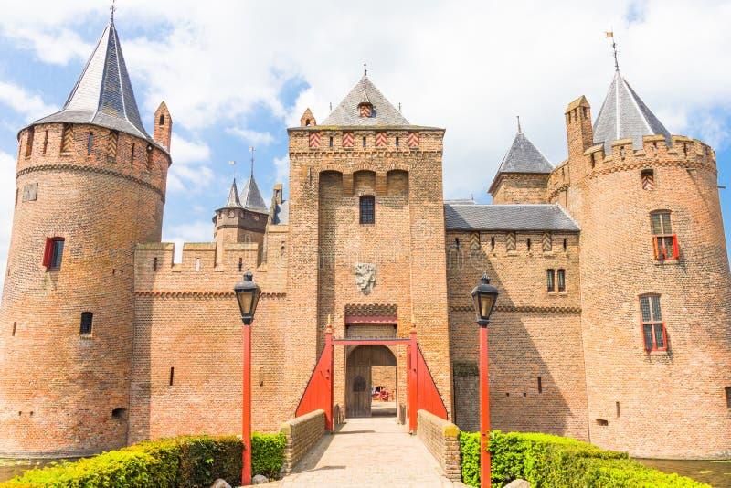 Muiderslot, Castle σε Muiden στοκ εικόνες με δικαίωμα ελεύθερης χρήσης