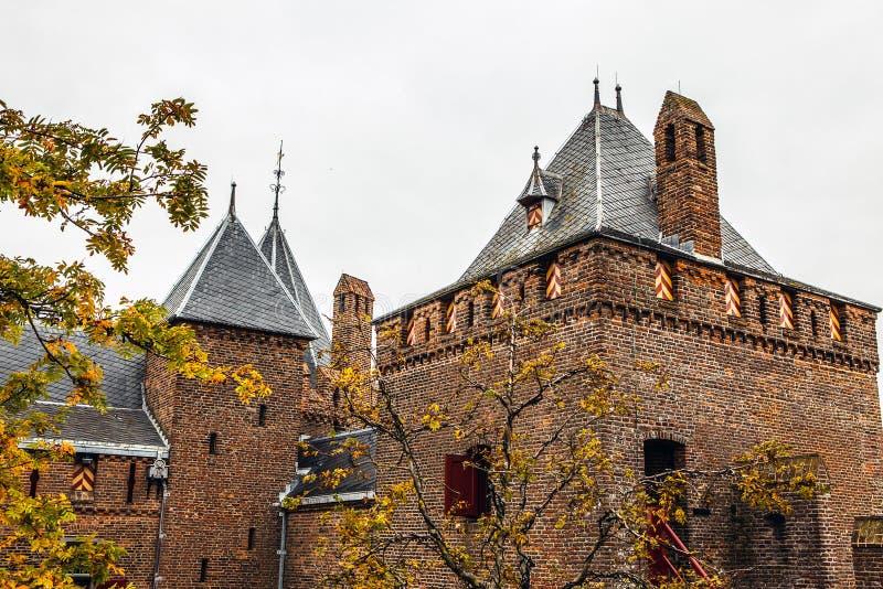Muiderslot Muiden kasztel w Muiden, Holandia holandie zdjęcie royalty free