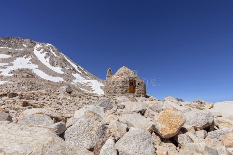 Muir Hut stockfoto