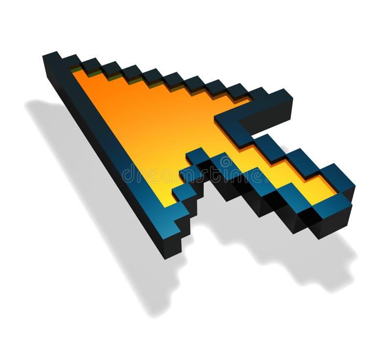 Muiswijzer vector illustratie