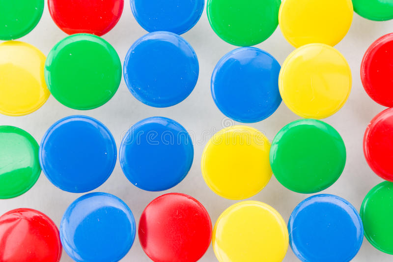 Muitas aderências coloridas fotografia de stock