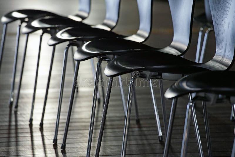 Muitas cadeiras imagens de stock royalty free