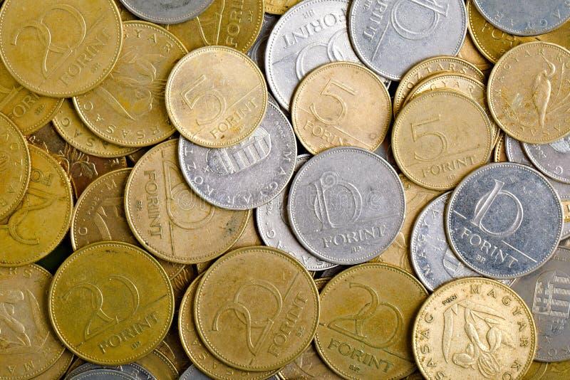 Muitas moedas imagem de stock royalty free