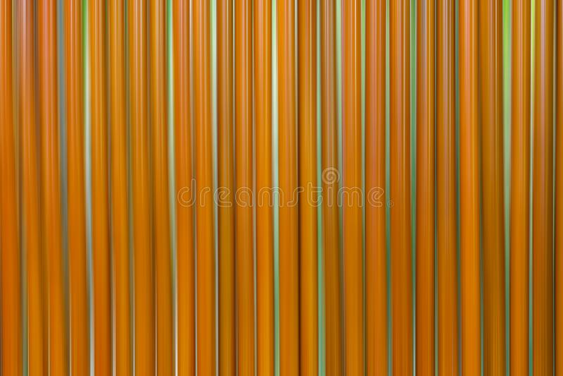 Muitas palhas marrons são fileiras ilustração royalty free