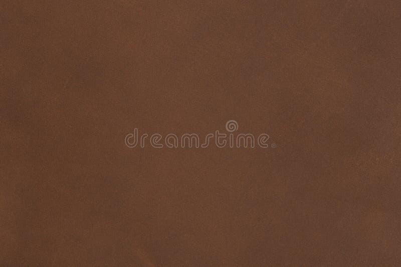 Muito muito bem e couro luxuoso do marrom escuro imagens de stock