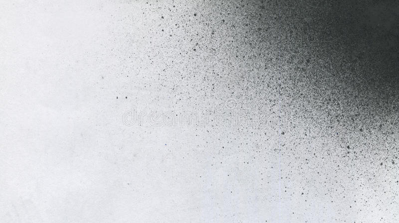 MUITO definição da ALTURA Papel de parede com efeito do aerógrafo Textura preta do curso da pintura acrílica no Livro Branco Lama foto de stock royalty free
