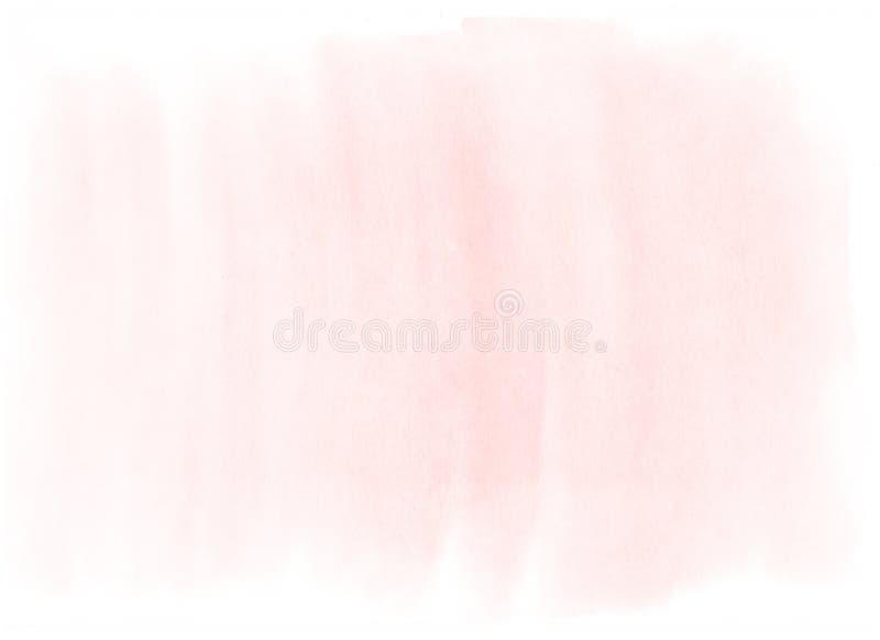 Muito luz - aquarela cor-de-rosa fotos de stock