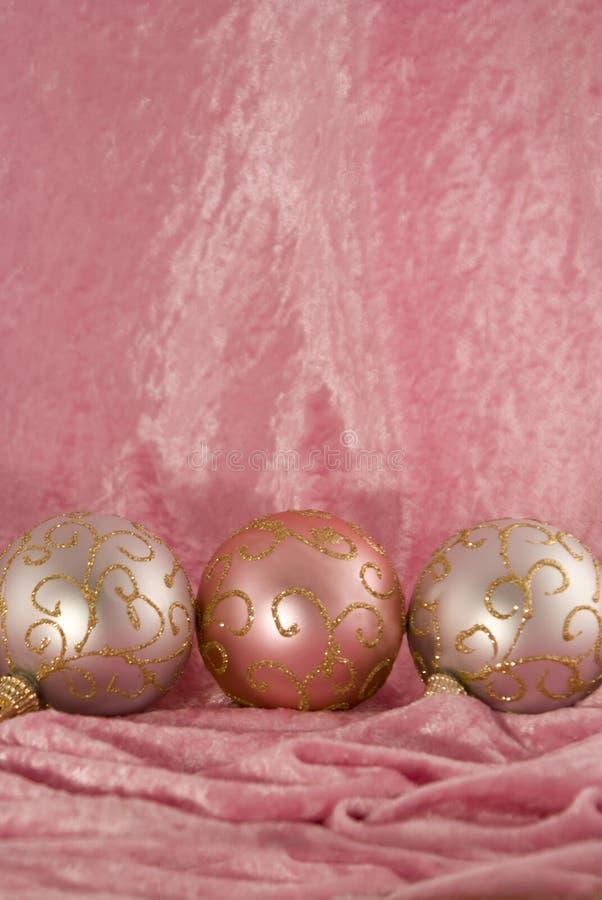 Muito um Natal de Girly fotos de stock royalty free