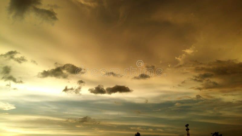 Muitos colorem o céu imagem de stock royalty free