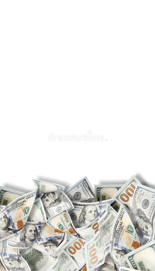 Muitos dólares Imagem altamente detalhada do dinheiro americano imagens de stock royalty free