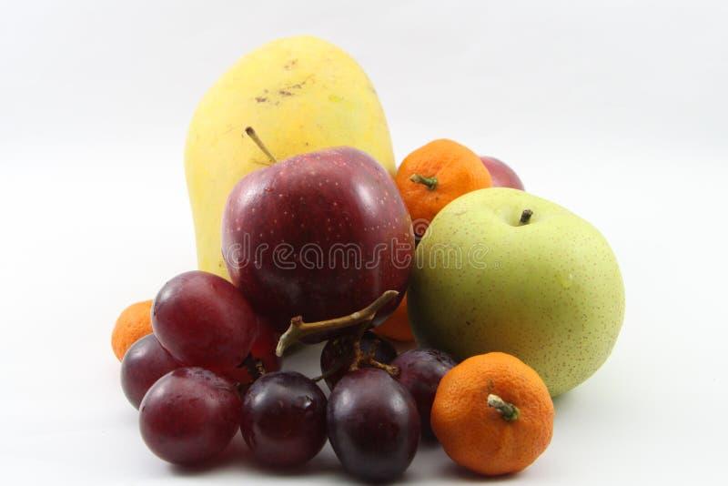 Muitos frutos belamente imagens de stock