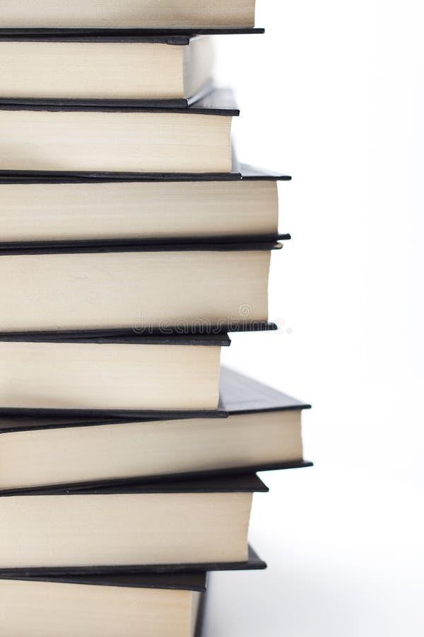 Muitos livros imagem de stock
