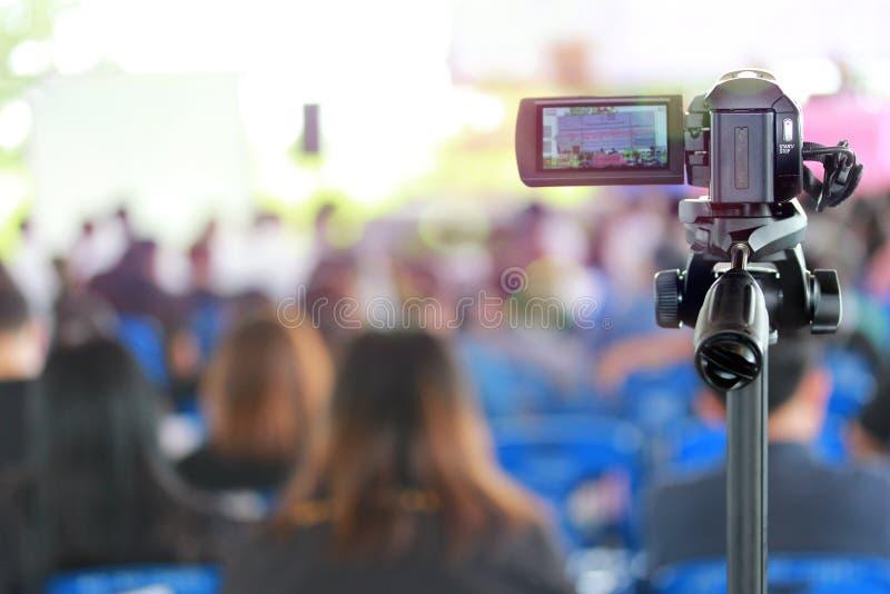 Muitos povos que encontram a participação e a participação nas reuniões fotografia de stock