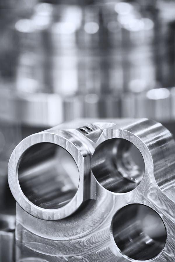Muitos tipos de metal detalham o fundo do projeto industrial imagem de stock royalty free