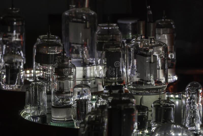 Muitos tubos de rádio em um lugar fotografia de stock